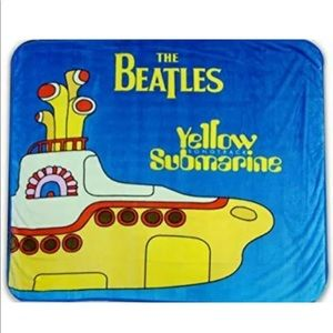 Other - The Beatles Yellow Submarine Fleece Throw Blanket